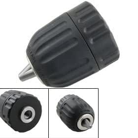 uxcell 0.8-10mm Keyless Drill Chuck for Hand Electric Driller