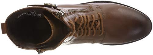 Donna 25100 Wax Combat nap Stivali Marrone Brandy Caprice 347 TtwU6w