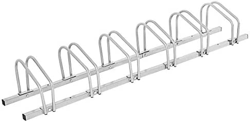 LLY Houseware Bicycle Floor Parking Adjustable Storage Stand Bike Rack Parking Garage