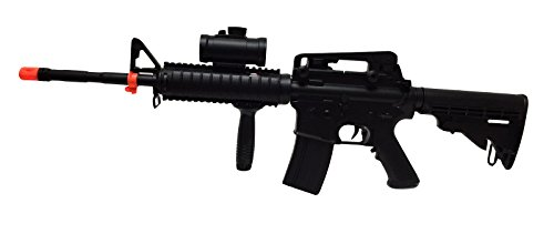 A N Double Eagle M83 M83a1 M4 Airsoft Electric Gun Tactical Rifle Fully Semi Automatic W  Accessories