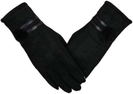 Lyperkin Winter Gloves, Premium Soft Windproof Thermal Touchscreen Gloves Warm Mitten for Girls and Women Suit Outdoor Snowboard Ski Sports