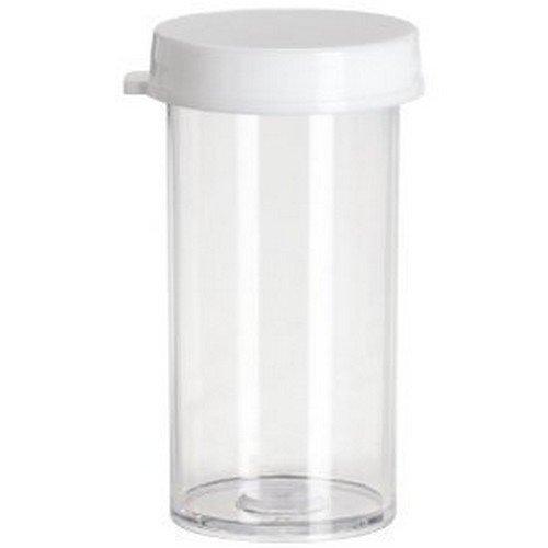 Thornton Plastics Plastic Snap Cap Vials, 5 Drams, 25 Piece by Thornton Plastics