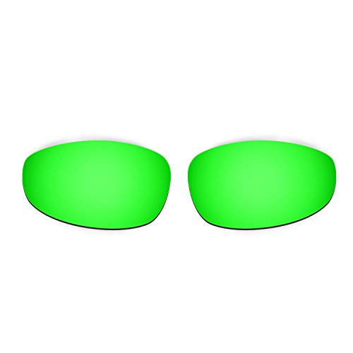 7195358929d92 Barato Hkuco Plus Mens Replacement Lenses For Oakley Juliet Sunglasses  Blue Emerald Green Polarized