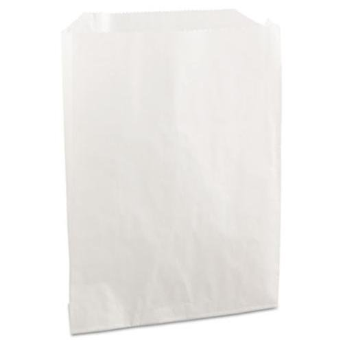 Bagcraft 450019 PB19 Grease-Resistant Sandwich/Pastry Bags, 6 x 3/4 x 7 1/4, White (Case of - Il Chicago In Outlets