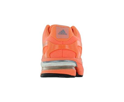 Adidas Adistar Boost W Esm púrpura / gris Zapatilla deportiva con nosotros 5 Anaranjado encendido