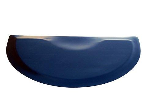 Rhino Mats XFS-3648S Xtra-Flex Foam Salon Semi-Circle Mat, 3' Width x 4' Length x 7/8'' Thickness, Black