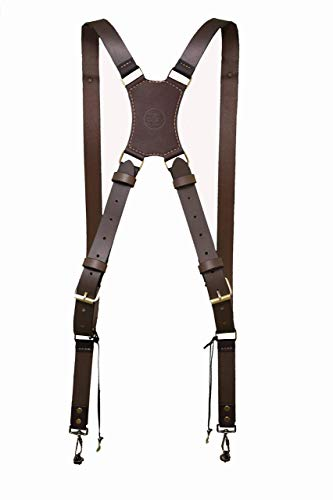 Camera leather harness, Real Leather strong Camera Strap, holds two cameras,Black in color, Exclusive,top of the line two-cameras luxury harness,strap.