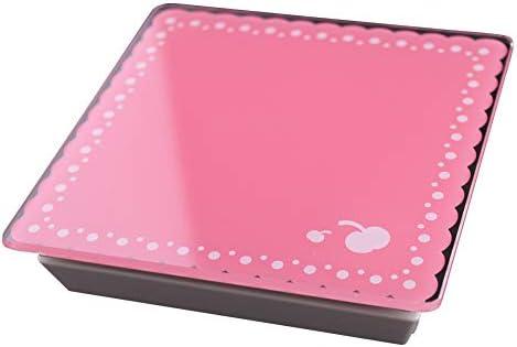 QIQIDEDIAN デジタル多機能キッチン/フードスケール強化ガラスデザインパネルポータブル防水2キロ (Color : Pink)