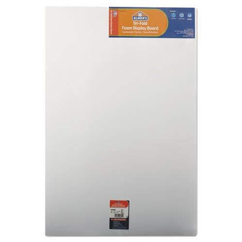 ELMERS Premium Display Board, Open: 48X36, Closed: 24X36, White (902090)