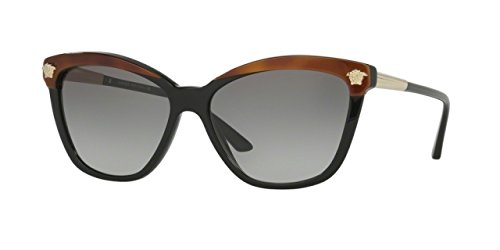 Versace 4313 5180/11 Black / Brown 4313 Cats - Cat Eye Versace Glasses