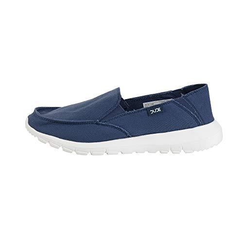 Dude Shoes Frauen AVA Stahlblau Slip-On/Maultier