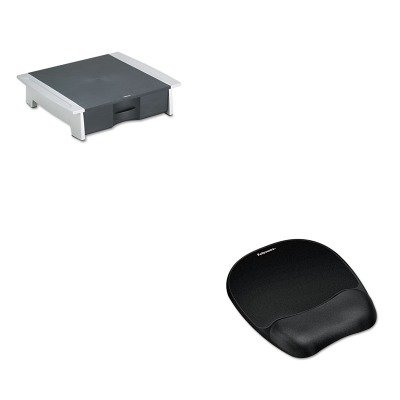 KITFEL8032601FEL9176501 - Value Kit - Fellowes Printer/Fax Machine Stand (FEL8032601) and Fellowes Mouse Pad w/Wrist Rest (FEL9176501)