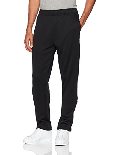 (Starter Men's Loose-Fit Track Pants, Amazon Exclusive, Black,)