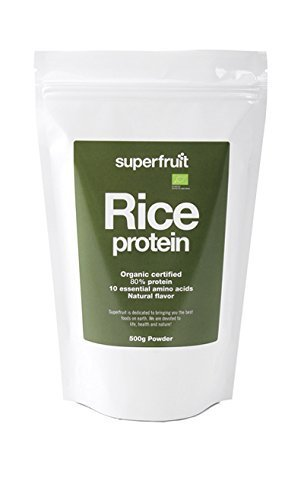 Superfruit Organic Rice Protein Powder 500 g by Superfruit