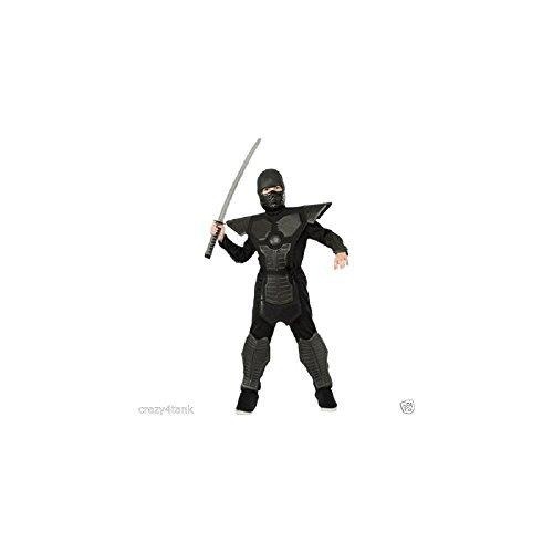 Rubie's Boys Black Dragon Warrior Ninja Costume, Sizemedi...