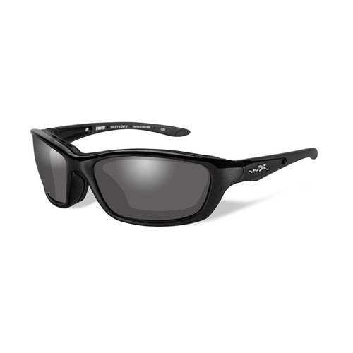 Wiley X Brick Sunglasses, Light Adjusting Smoke Grey, Metallic - Laser Sunglasses Eye Surgery
