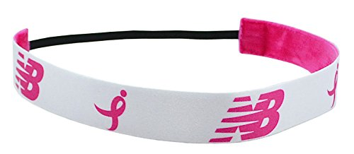 New Balance Susan G. Komen for the Cure Foundation Performance Headband (White)