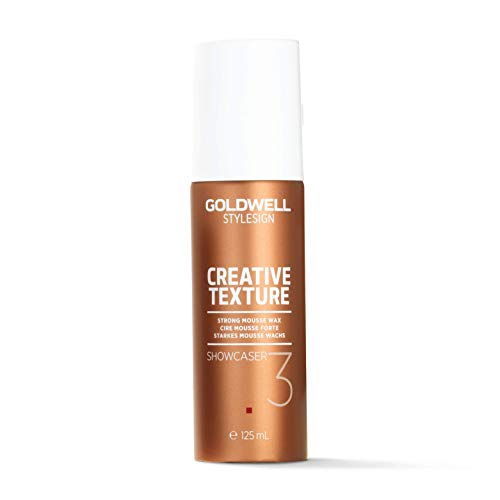 (Goldwell Stylesign Creative Texture Showcaser Strong Mousse Wax 4.2 oz)