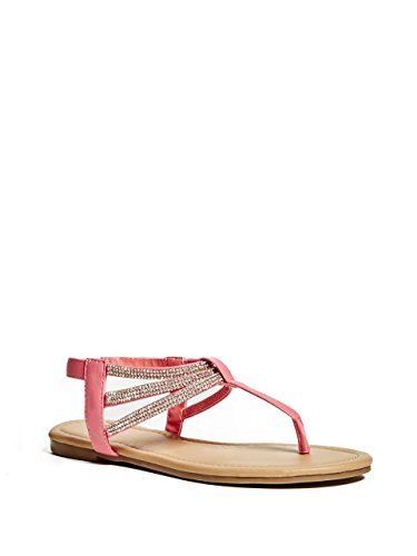 fa2dc18cacd7 G by GUESS Women s Ellen T-Strap Sandals - Import It All