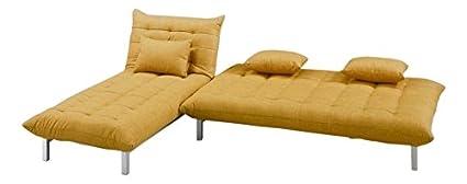 Furny Designer Five Seater L-Shaped sofa ( Yellow)