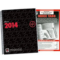 NFPA 70: National Electrical Code (NEC) Spiralbound and Tabs Set, 2014 Edition by National Fire Protection Association