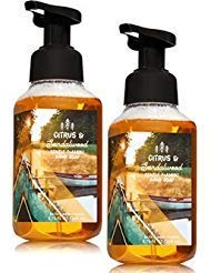(Bath and Body Works 2 Pack Foaming Hand Soap Citrus & Sandalwood. 8.75 Oz)