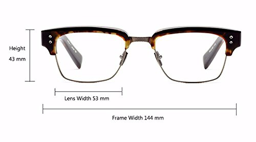 de Optical dorado marca Myopia marco gafas negro Beckham la de Oculos Gafas Statesman con de sol de Fashion The Aprigy diseño brillante O vintage Grau Black Sol AZTOx