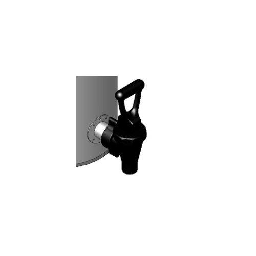 Bunn Tea Dispenser (Bunn 03260.0003 Blank Faucet Assembly, Plastic, Black)
