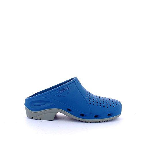 TROKLO' 140.0001 - Calzado de protección de goma para mujer Blu (Royal/Suola Grigio)