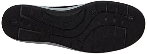 Ganter GRACE, Weite G - mocasines de cuero mujer negro - Schwarz (schwarz 0100)