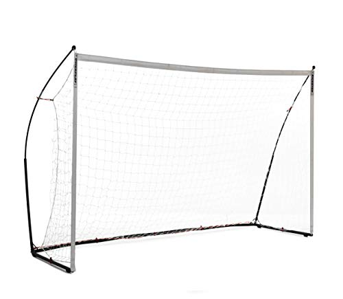 QuickPlay Kickster Elite Futsal Goal 3x2' - Ultra Portable Indoor & Outdoor Football Goal Features Weighted Base [Single Goal] (3 x 2M Futsal)
