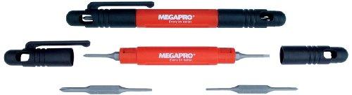 Megapro 6PDRIVER-CC Four-in-One Pocket Driver (Pocket Clip Screwdriver Set)