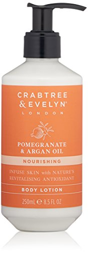 Crabtree & Evelyn Pomegranate & Argan Oil Body Lotion, 8.5 fl. oz.