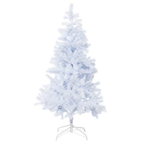 Bocca 5 FT Christmas Tree Atificial Premium Pine Full Tree with Metal Leg Indoor and Outdoor (White, 5FT) by Bocca (Image #7)