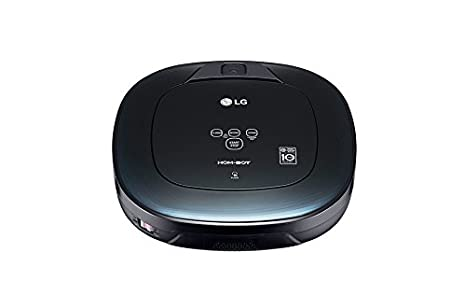 LG VR8600OB aspiradora robotizada Sin bolsa Negro 0,6 L ...