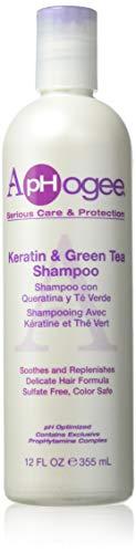 Aphogee Keratin and Green Tea 8-ounce Shampoo, 8 ()