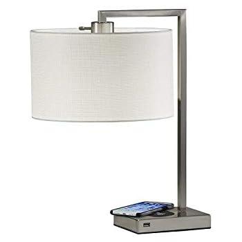 Amazon Com Adesso 4069 02 Drake Table Lamp Wireless