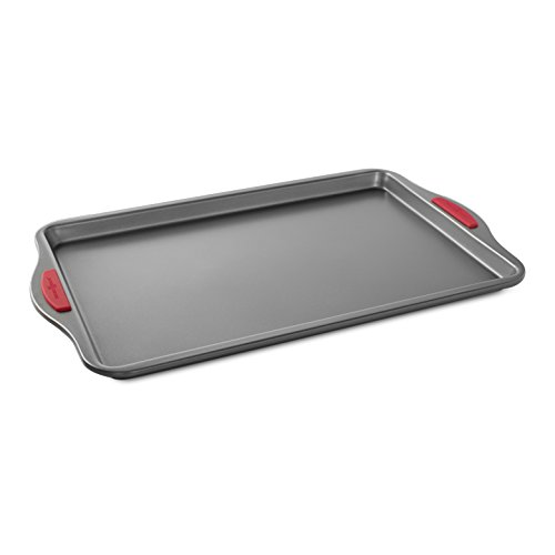 "Nordic Ware Freshly Baked Cookie Sheet Pan, 11"" x 17"", Metallic"