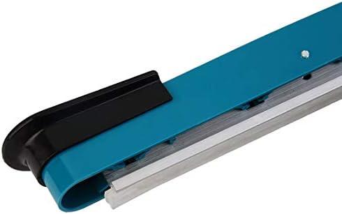 300mm Impulse Heat Sealer Elektro-Kunststoff-Polybeutel-Versiegelungsmaschine SF-300 Manuelle Erleichterung Werkzeugmaschinen - Blau