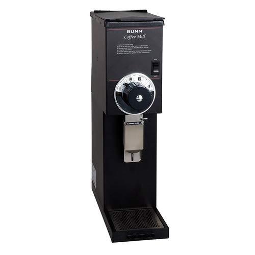 Coffee Bean Grinder - 3 lb. Hopper Capacity - Black Finish by Bunn (Image #1)