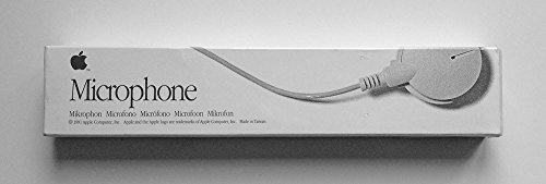 APPLE COMPUTER DESKTOP MICROPHONE PART# 699-5103-A (grey) by Apple (Image #1)