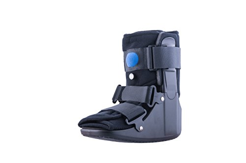 Mars Wellness Premium Short Air Cam Walker Fracture Ankle / Foot Stabilizer Boot - Large
