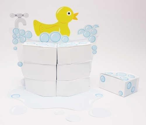 Rubber Ducky Favorbox Centerpiece