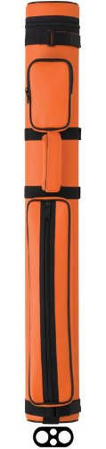 Action Vinyl Pool Cue Case (2 Butt and 2 Shaft), Orange