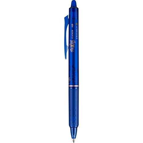 (Pilot FriXion Clicker Retractable Erasable Gel Pen, Blue, Bold Point, Blue Ink, Dozen Box (11387))