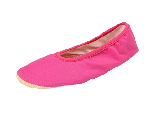 YUMP YUMPZ Basic # 1 Various Colors - Gymnastic Shoes from Germany Turn Slippers/Hall Sneakers/Ballettschuhe/Flats - in Different Sizes. pink11