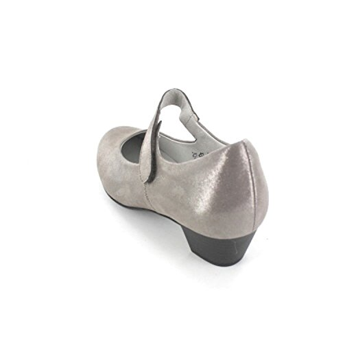 WALDLÄUFER HILARIA 358303185088 Damen Slipper Grau