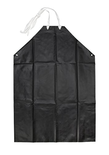 Steelman 77050 Black Chemical Resistant Apron
