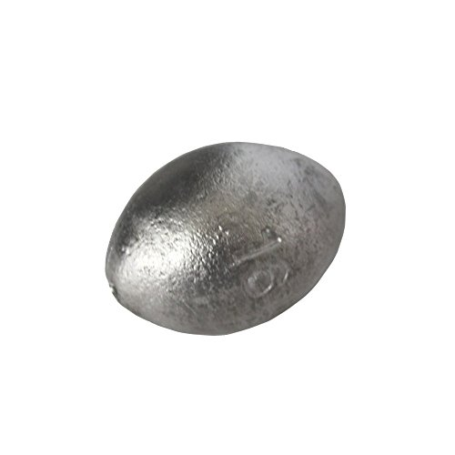 5 Pounds of Egg Sinker Style Fishing Weights - Many Sizes Available