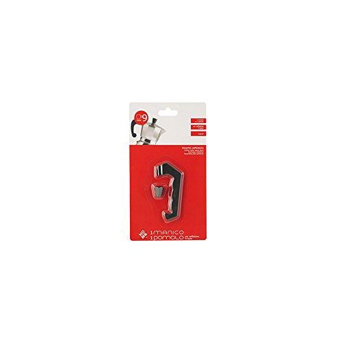 Acquisto Home New Manico/Pomolo per Caffettiera Moka da 9 Tazze, Nero, 14x2x25 cm Prezzi offerta